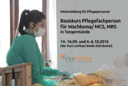 Basiskurs Pflegefachperson für Wachkoma/ MCS, MRS